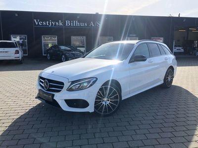 brugt Mercedes C250 d 2,2 AMG Line stc. aut.