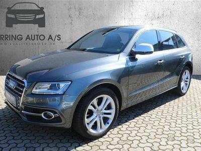 brugt Audi SQ5 3,0 biturbo TDI Quattro Tiptr. 326HK 5d 8g Aut. - Personbil - mørkgråmetal