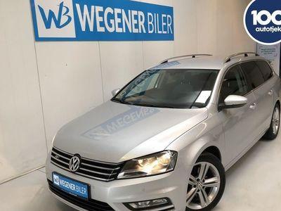 brugt VW Passat 2,0 TDI BMT R-Line 177HK Stc 6g