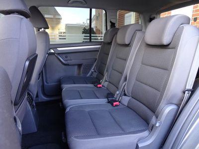 brugt VW Touran 2,0 TDI 7 Pers. Comfortline 140HK MPV 5d