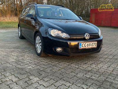 brugt VW Golf VI 1,6 tdi