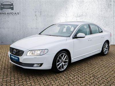 brugt Volvo S80 2,0 D4 Eco Momentum 181HK 6g - Personbil - hvid