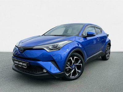 brugt Toyota C-HR 1,8 Hybrid C-LUB Selected + Premium Multidrive S 122HK 5d Aut. A+++