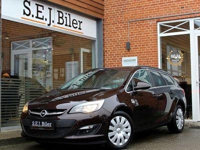 brugt Opel Astra 6 CDTi Enjoy ST eco 110HK 5d