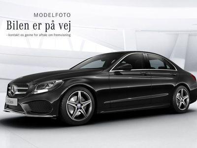 brugt Mercedes C200 d 2,2 AMG Line aut.