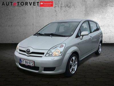 brugt Toyota Corolla Verso 1,8 Terra 7prs