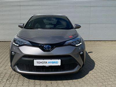 brugt Toyota C-HR 1,8 Hybrid C-LUB Multidrive S 122HK 5d Aut. A++