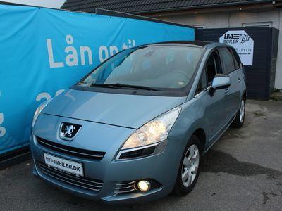 brugt Peugeot 5008 1,6 HDi 109 Premium 7prs 5d