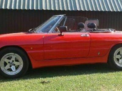 brugt Alfa Romeo Spider Alfa Romeo Spider