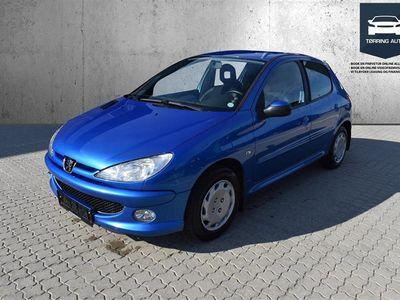 brugt Peugeot 206 1,4 HDI Comfort Plus 70HK 5d - Personbil - Blå