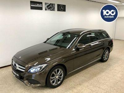 brugt Mercedes C220 d 2,2 stc.