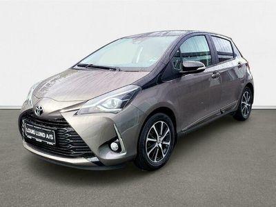 brugt Toyota Yaris 1,0 VVT-I T3 Premiumpakke 72HK 5d A+