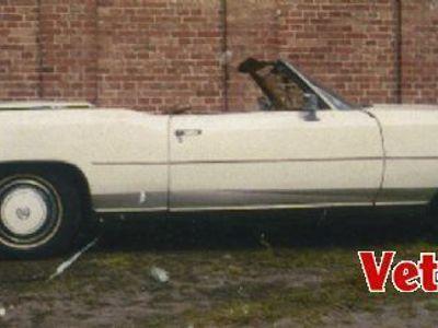 brugt Cadillac Eldorado Capriolet