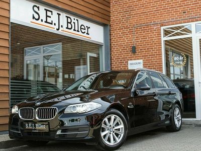 brugt BMW 520 d 2,0 Touring 184HK st.car aut