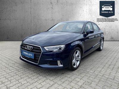 brugt Audi A3 1,5 TFSI Sport 150HK 6g - Personbil - Mørkblåmetal