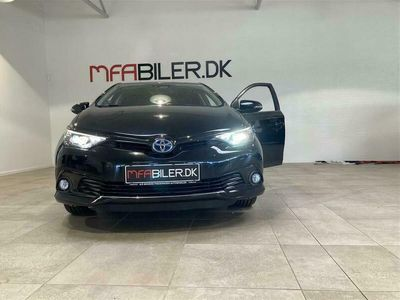 brugt Toyota Auris Hybrid 1,8 Hybrid Selected 136HK 5d Aut.