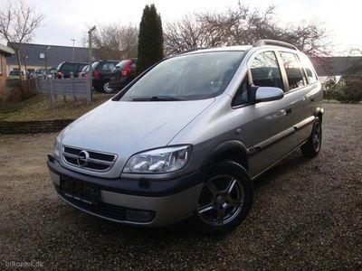 used Opel Zafira 1,8 16V 125HK