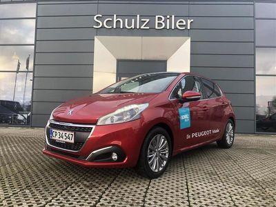 brugt Peugeot 208 1,2 PureTech Velvet 82HK 5d 1,2
