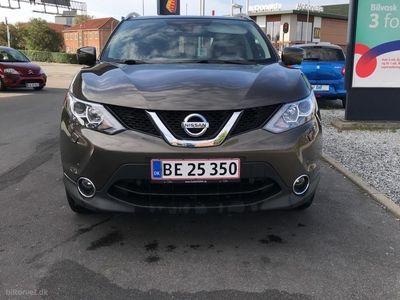 brugt Nissan Qashqai 1,5 DCi N-Connecta 110HK 5d 6g