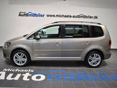 used VW Touran 1,6 TDi 105 Comfortline BMT 7prs