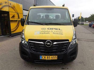 brugt Opel Movano L3H1 2,3 CDTI tvillingedæk RWD 163HK Ladv./Chas. 6g