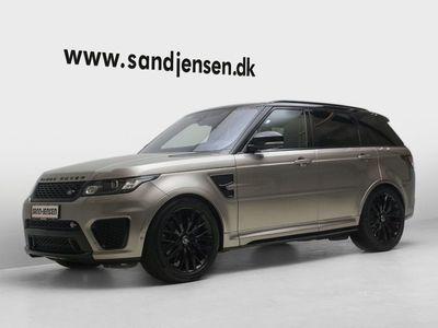 brugt Land Rover Range Rover Sport 5,0 SCV8 SVR aut.