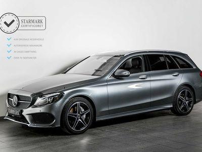käytetty Mercedes C200 2,0 AMG Line stc. aut.