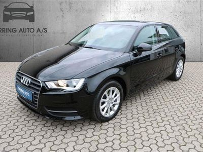 brugt Audi A3 1,6 TDI Attraction 110HK 6g - Personbil - sortmet