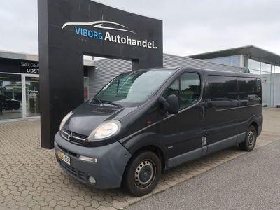 brugt Opel Vivaro 1,9 DTi L2H2 Van