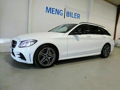 brugt Mercedes C300 2,0 AMG Line stc. aut. Van