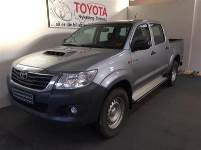 gebraucht Toyota HiLux Double Cab 2,5 D-4D T2 Air 4x4 144HK DobKab 6g