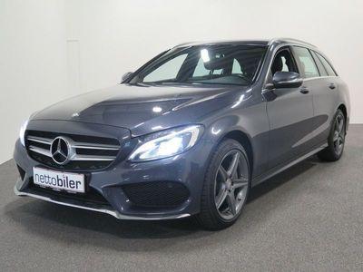 brugt Mercedes C200 1,6 BlueTEC AMG Line stc.
