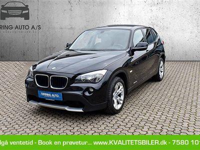 brugt BMW X1 143HK - Personbil - sort