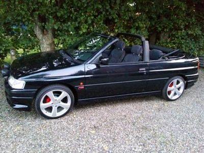 brugt Ford Escort Cabriolet 1,6 1,6