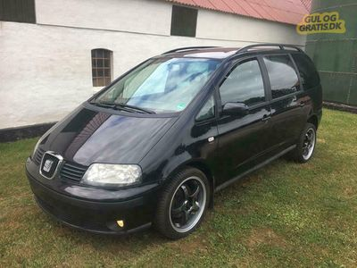 brugt Seat Alhambra Nysynet Seat Alhambra 7 Pers