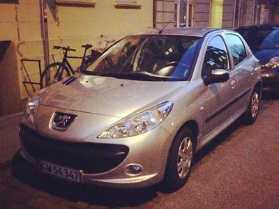 brugt Peugeot 206+ 1,4 HDI 68 HK 5-D
