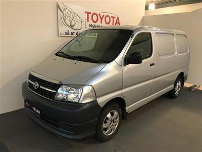 used Toyota HiAce Kort 2,5 D-4D u/komf. 95HK Van
