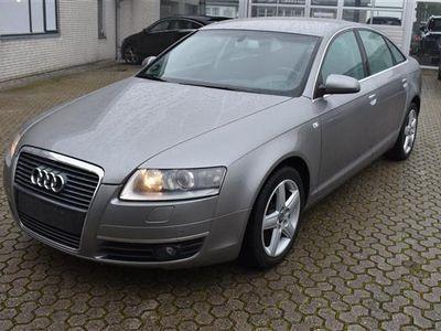 brugt Audi A6 2,4 V6 Multitr. 177HK Trinl. Gear - Personbil - Grå