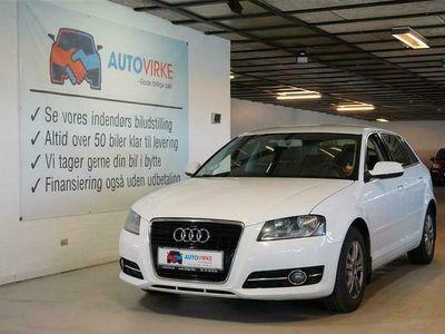 brugt Audi A3 Sportback 1,6 TDI DPF Attraction S Tronic 105HK 5d Aut.