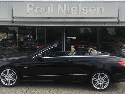 brugt Mercedes E350 5 CGI BlueEfficiency 292HK Cabr. 7g Aut.