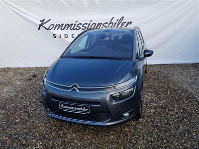 brugt Citroën Grand C4 Picasso 1,6 Blue HDi Attraction start/stop 120HK 6g