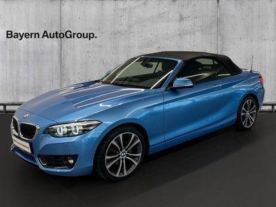brugt BMW 218 i 1,5 Cabriolet aut.