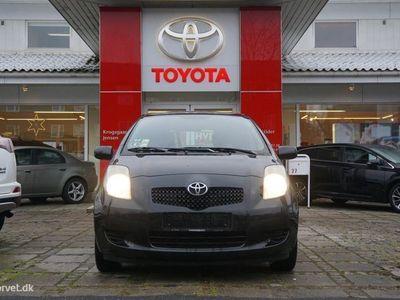 brugt Toyota Yaris 1,3 VVT-I Linea Luna 87HK 5d