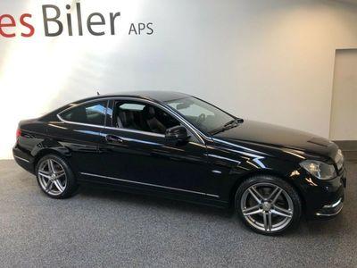 brugt Mercedes C350 3,5 Coupé aut. BE