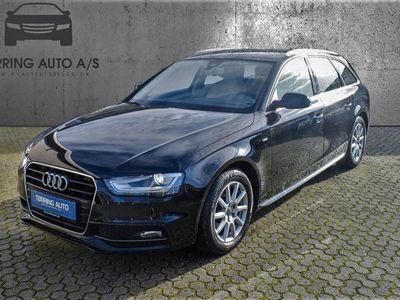 brugt Audi A4 Avant 2,0 TDI Ultra 136HK Stc 6g - Personbil - sort