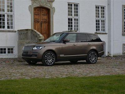 brugt Land Rover Range Rover 4,4 SD V8 Autobiography 4x4 340HK 5d 8g Aut.