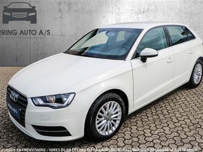 brugt Audi A3 Sportback 2,0 TDI DPF Attraction 150HK Stc 6g - Personbil - hvid