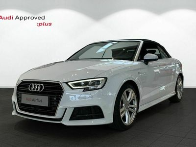 brugt Audi A3 Cabriolet 35 TFSi Sport Limited+ S-tr.