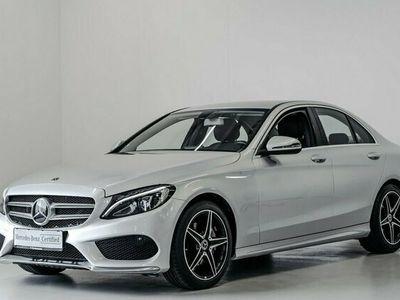 brugt Mercedes C220 d AMG Line aut. 2018