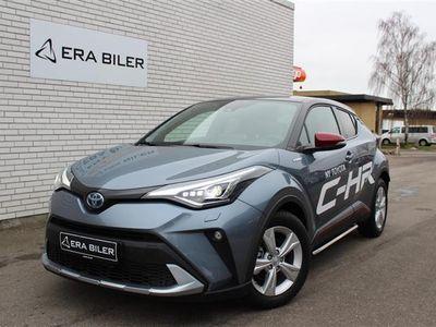 brugt Toyota C-HR 1,8 B/EL C-LUB Premium Alcantara Bitone Multidrive S 122HK 5d